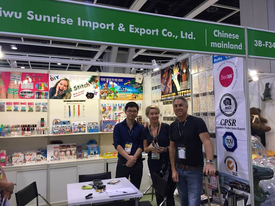 HONGKONG FAIR.-Apr.2015