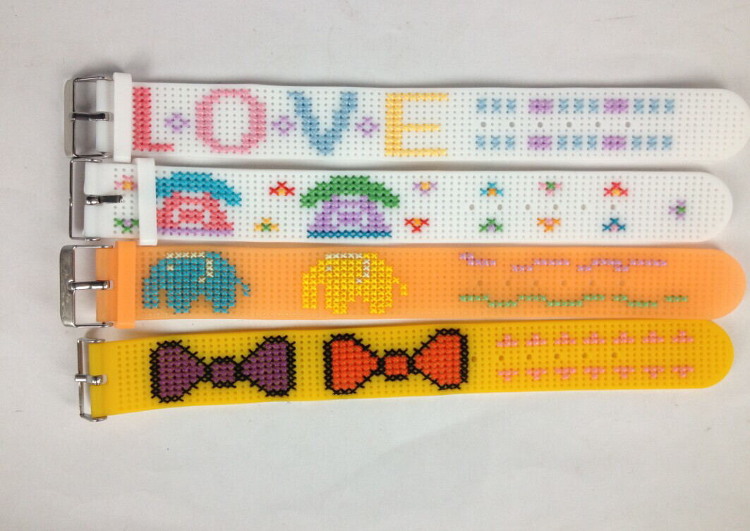 DIY CROSS STITCH BRACELET